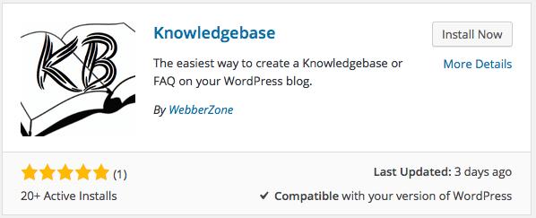 Installing Knowledgebase
