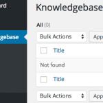 Introducing Knowledgebase