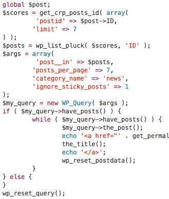 CRP API