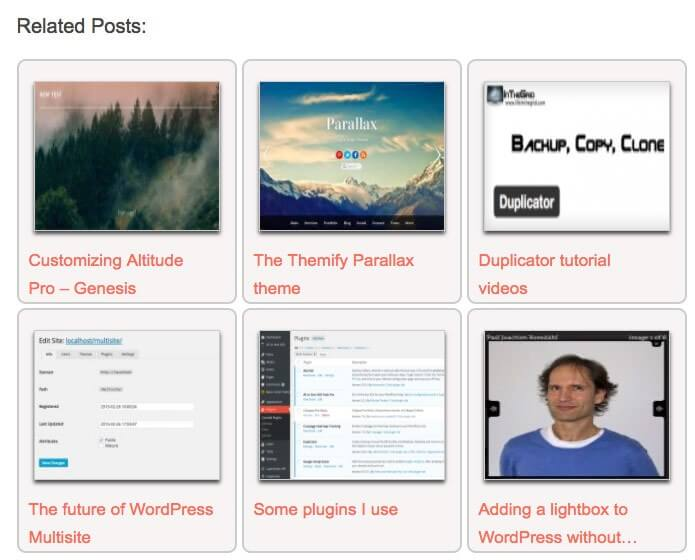 Styling Contextual Related Posts   WebberZone