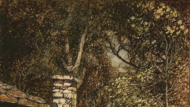 Hansel and Gretel by Arthur Rackham